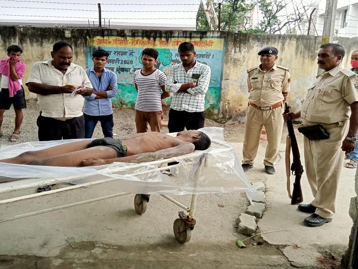दोस्तों के साथ आया था नहाने,डूबने से हुई मौत; SDRF की टीम ने निकाला शव|वैशाली,Vaishali - Dainik Bhaskar