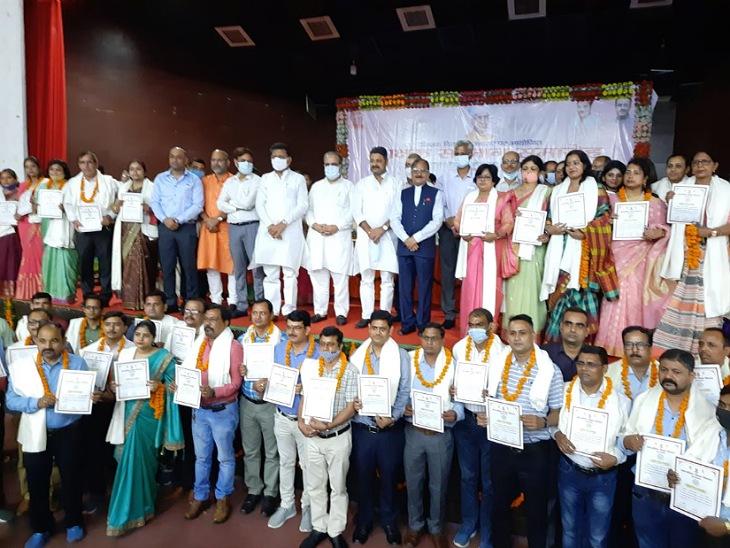 कैबिनेट मंत्री भूपेंद्र सिंह बोले- भारत की शिक्षा पद्धति का गौरवमयी इतिहास, शिक्षा ही तय करती है तालिबानी बनेंगे या हिंदुस्तानी|मुरादाबाद,Moradabad - Dainik Bhaskar