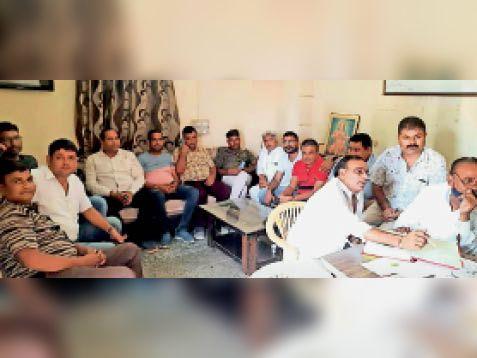 छह साल बाद चुनावी प्रक्रिया शुरू, 17 अक्टूबर को होंगे चुनाव|जालोर,Jalore - Dainik Bhaskar