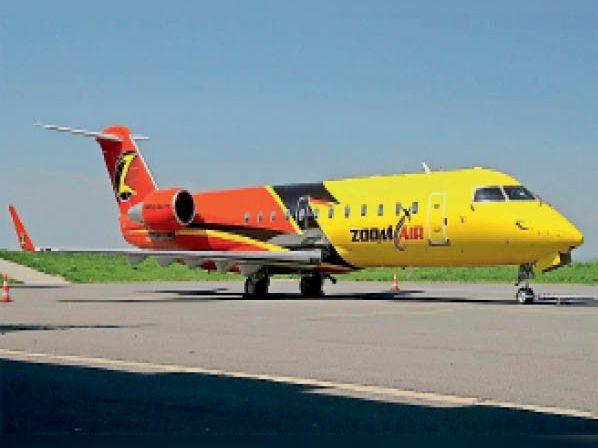 जूम एयरलाइन जो भविष्य में अम्बाला डाेमेस्टिक एयरपाेर्ट सेे ऑपरेट हाेगी। - Dainik Bhaskar