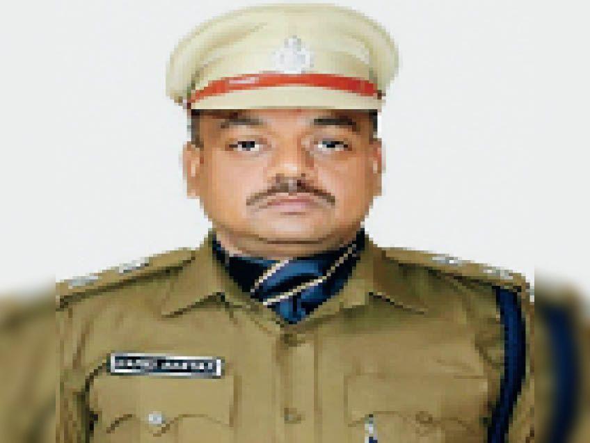 एसएसपी हामिद अख्तर। - Dainik Bhaskar