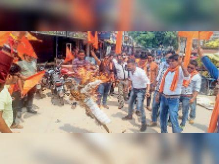 हिंदु संगठनों ने नंदकुमार बघेल के खिलाफ कार्रवाई की मांग रखी। - Dainik Bhaskar