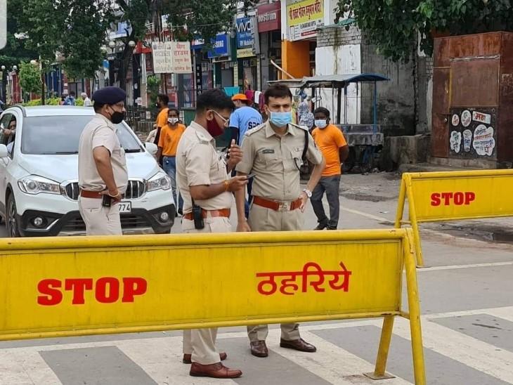 कोविड के दौरान जागरूकता पर पुलिस टीम ने काफी काम किया।