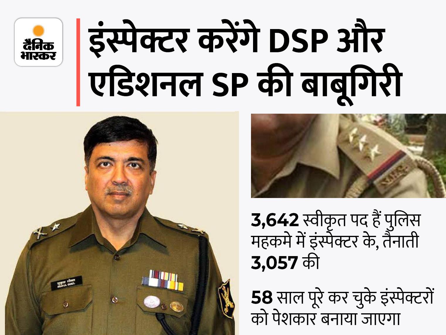 अब एडिशनल SP और DSP के पेशकार होंगे इंस्पेक्टर, सबसे पहले लखीमपुर खीरी में 8 की हुई तैनाती, DGP के आदेश पर छलका दर्द|वाराणसी,Varanasi - Dainik Bhaskar