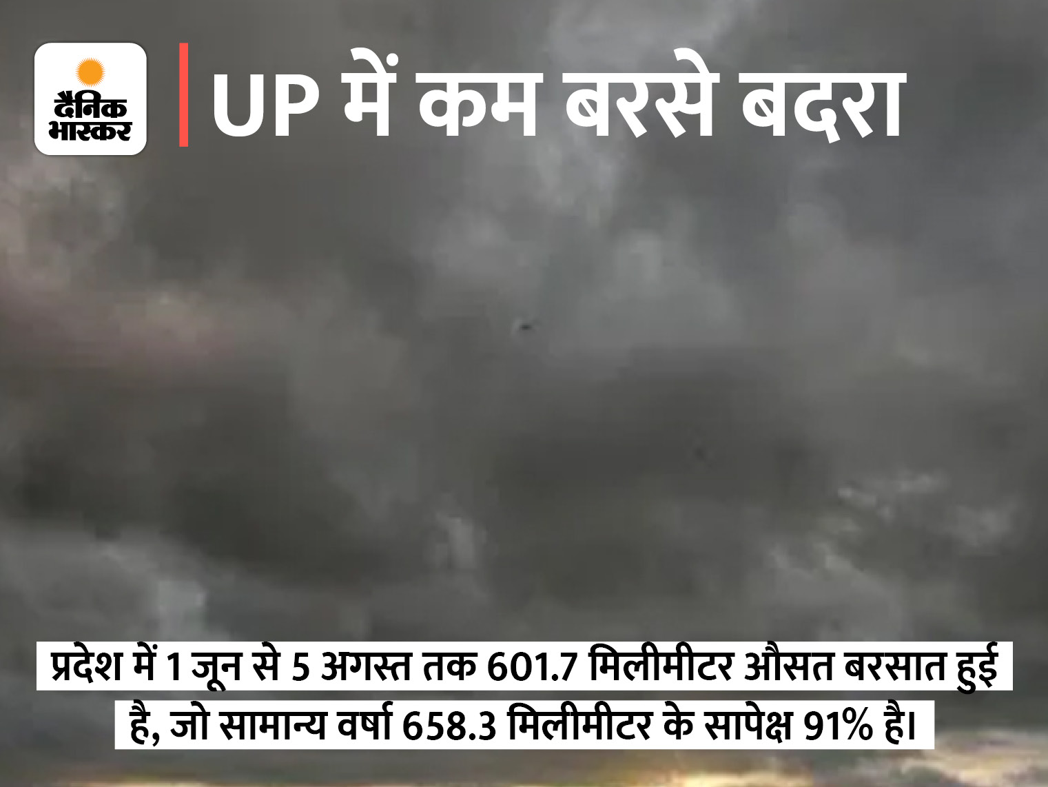वैज्ञानिक बोले- आसमान से बादल गायब, इसलिए सीधे जमीन तक पहुंच रही धूप, आज लखनऊ समेत 17 जिलों में बारिश का अलर्ट|लखनऊ,Lucknow - Dainik Bhaskar