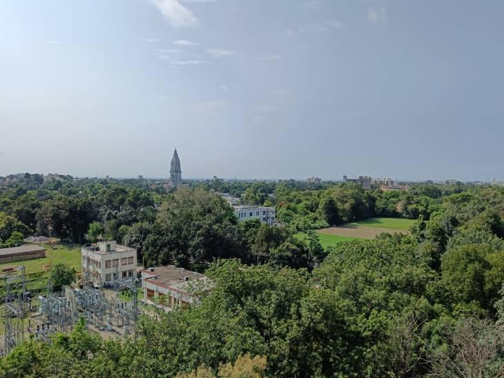 सुबह तेज धूप निकली, अधिकतम पारा 34 डिग्री सेल्सियस पर; 2 दिन बाद अच्छी बारिश की संभावना|वाराणसी,Varanasi - Dainik Bhaskar