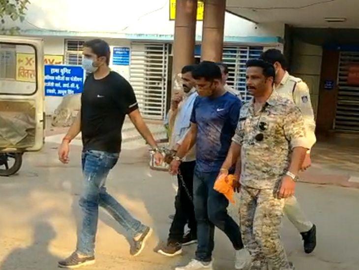 पुलिस ने 3 आरोपियों को गिरफ्तार किया, हत्या आरोप में फरार चल रहे कांग्रेस नेता का बेटा भी शिकंजे में आया|दतिया,Datiya - Dainik Bhaskar