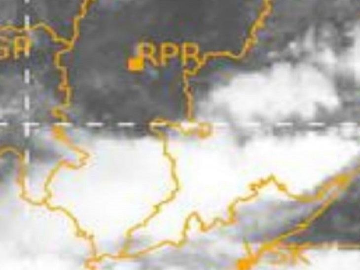 संभाग में होगी अति भारी बारिश, मौसम विभाग ने जारी की चेतावनी; प्रदेशभर में अब तक सामान्य से 14 प्रतिशत कम पानी गिरा|रायपुर,Raipur - Dainik Bhaskar