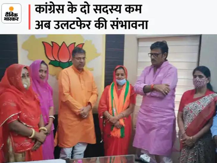 भाजपा में शामिल हुईं कांग्रेस से जीती रमा देवी।