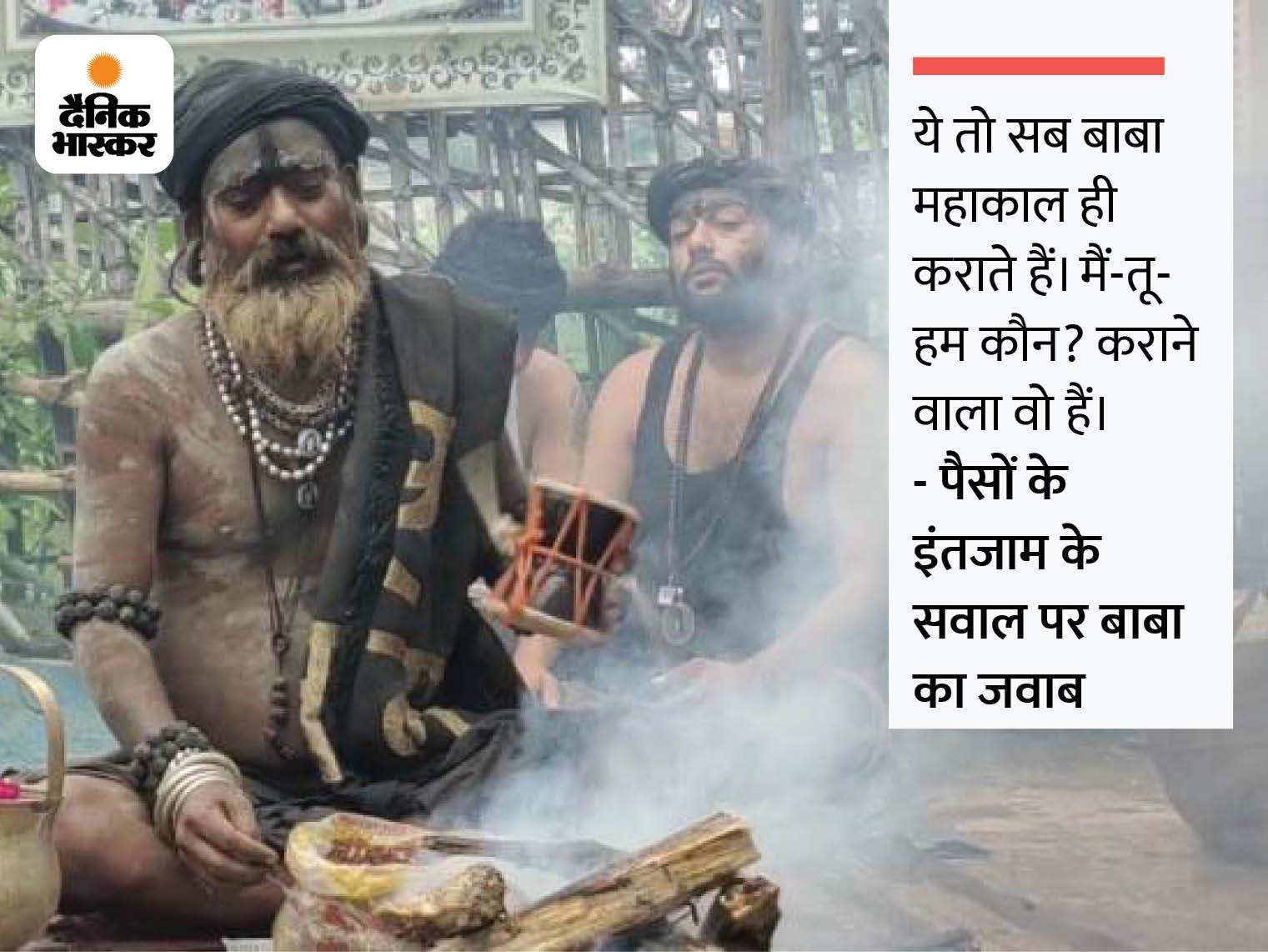 15 साल से शाही सवारी की साज-सज्जा और स्वागत पर लाखों रुपए खर्च करते हैं, कहते हैं- हमें तो बस आदेश मिलता है|उज्जैन,Ujjain - Dainik Bhaskar