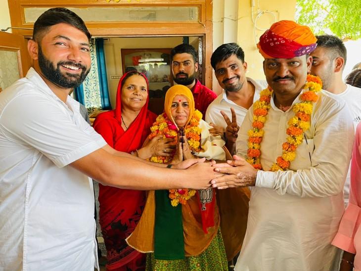 कांग्रेस ने 22 पंचायत समितियों में से 13 जीतीं, 9 पर भाजपा ने मारी बाजी; दूदू में बहुमत के बाद भी नहीं बना भाजपा का प्रधान|जयपुर,Jaipur - Dainik Bhaskar