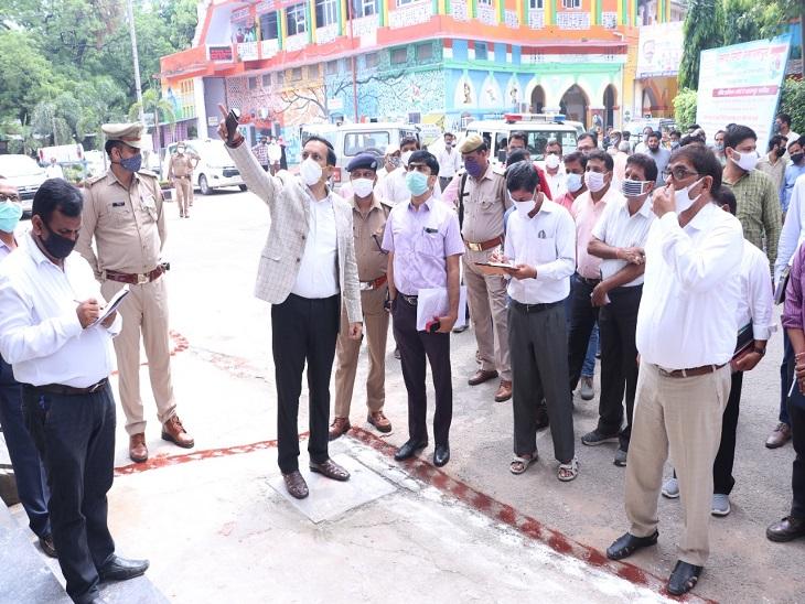 नगर निगम परिसर में आईसीसीसी का - Dainik Bhaskar