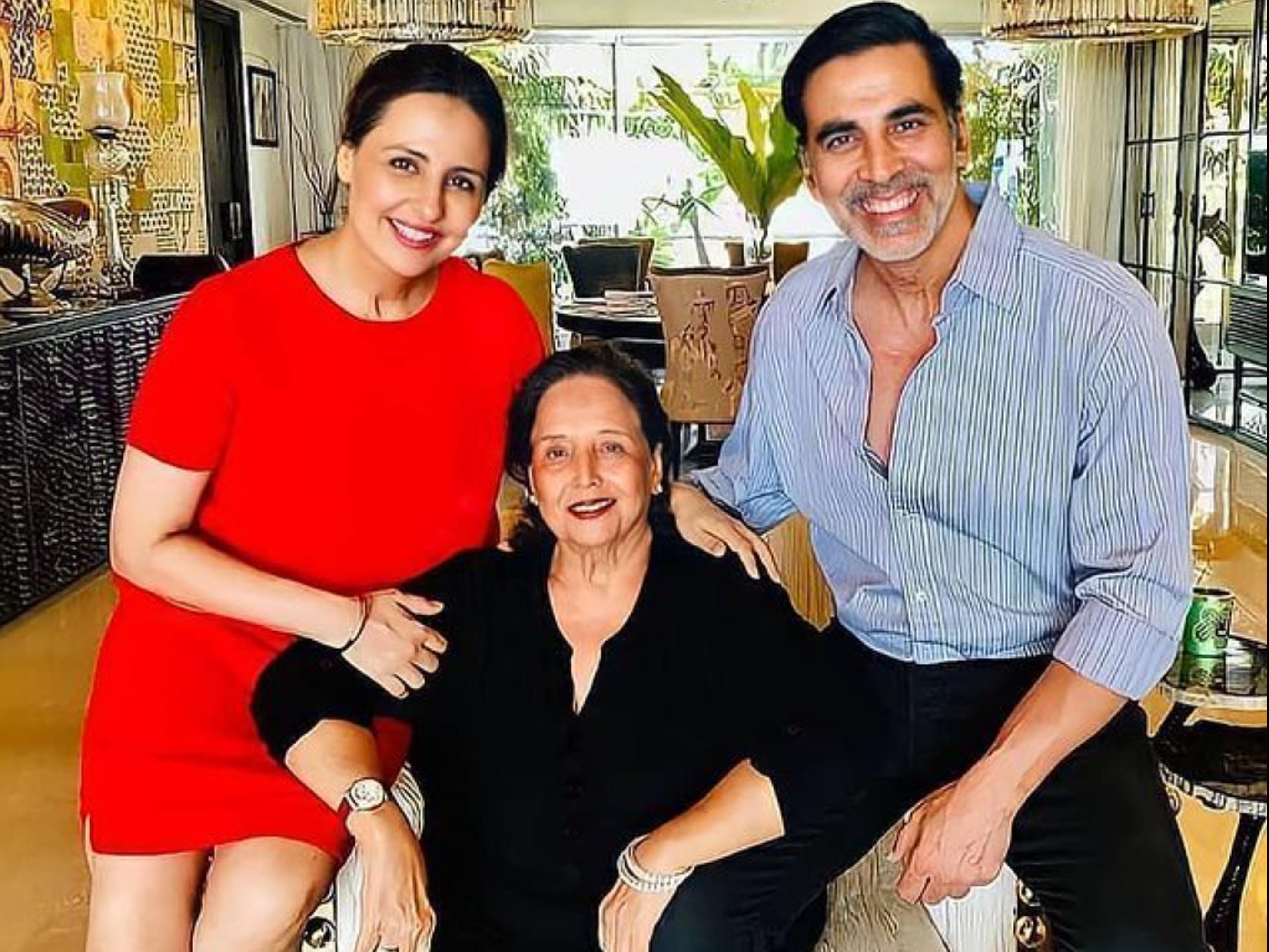 अक्षय कुमार की मां अरुणा क्रिटिकल नहीं; 3 दिन पहले किया गया था एडमिट, सिंड्रेला की शूटिंग छोड़ मुंबई लौटे एक्टर|बॉलीवुड,Bollywood - Dainik Bhaskar