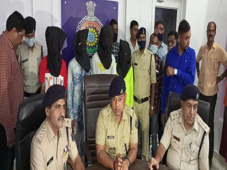 भिलाई में लूट के बाद हत्या करने वाले आरोपियों को पकड़ गया। - Dainik Bhaskar