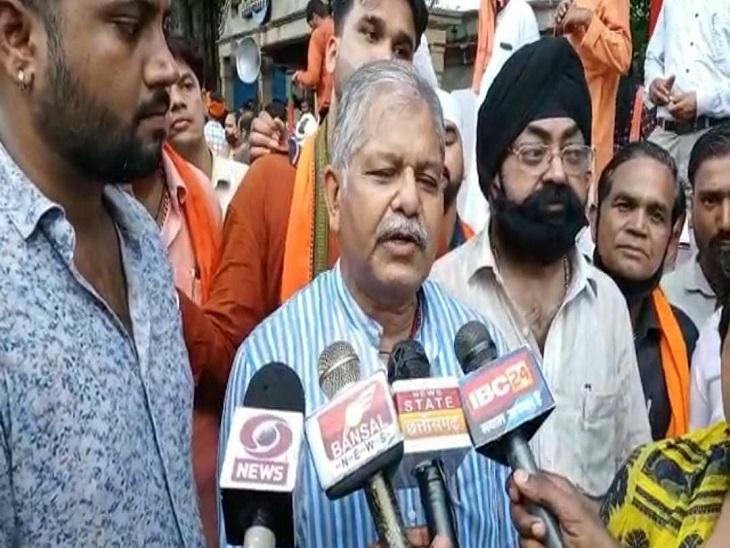 नेता प्रतिपक्ष धरम लाल कौशिक ने कांग्रेस राज में धर्मांतरण के मामले बढ़ने का आरोप लगाया।