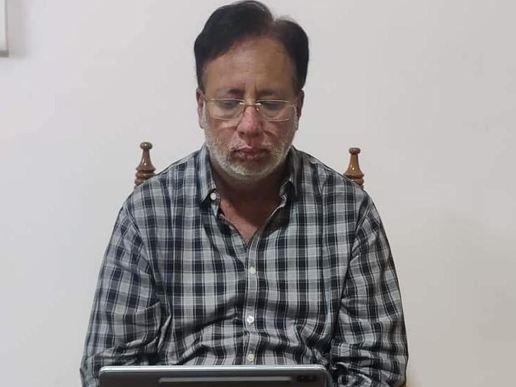 10 दिन बाद घर लौटे BJP प्रदेश अध्यक्ष, बीमारी ने पार्टी के कार्यक्रमों से किया दूर तो ऑनलाइन कर रहे जिला अध्यक्षों के साथ मीटिंग|बिहार,Bihar - Dainik Bhaskar
