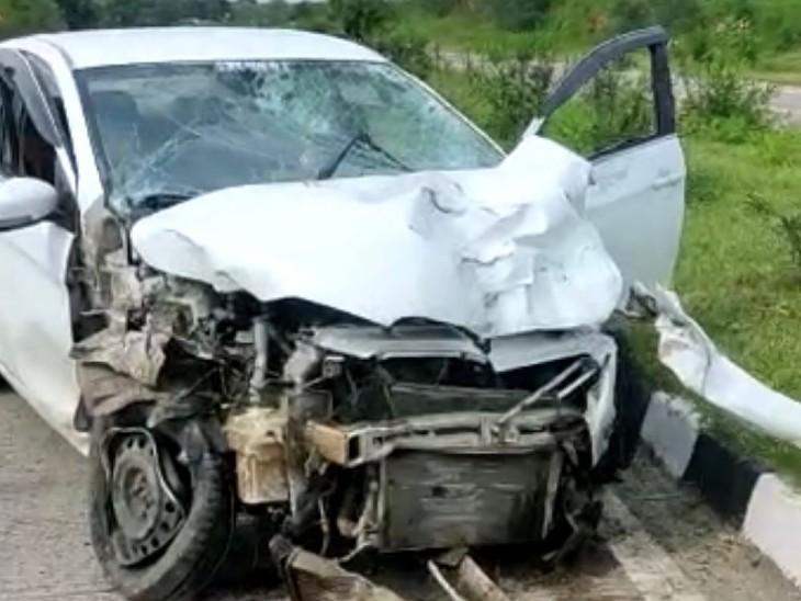 बैतूल में कार ने बाइक सवार दो युवकों को रौंदा, दोनों युवकों की मौके पर मौत|बैतूल,Betul - Dainik Bhaskar