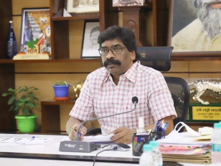 हेमंत सोरेन ने अपने पत्र में लिखा है कि आयोग की तरफ से  312 करोड़ रुपए झारखंड के लिए आवंटित करने की अनुशंसा की गई है। - Dainik Bhaskar
