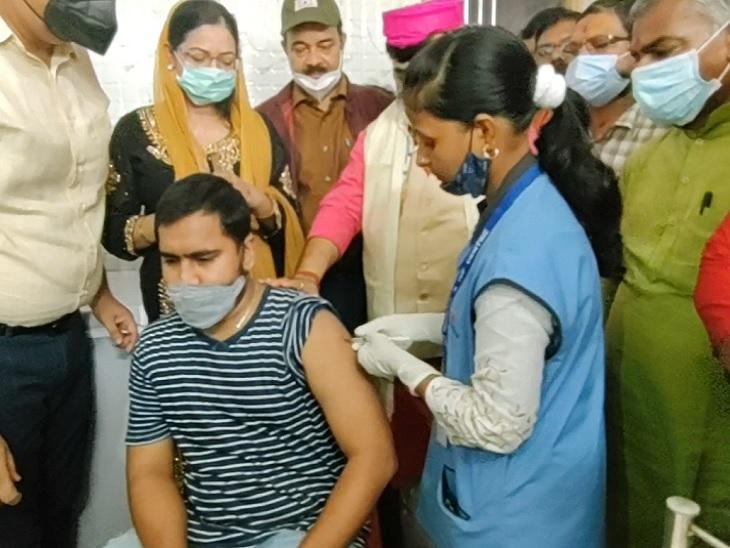दरभंगा में खुला उत्तर बिहार का पहला स्पूतनिक कोविड वैक्सीनेशन सेंटर, 1200 रुपए में लगेगा पहला डोज|दरभंगा,Darbhanga - Dainik Bhaskar