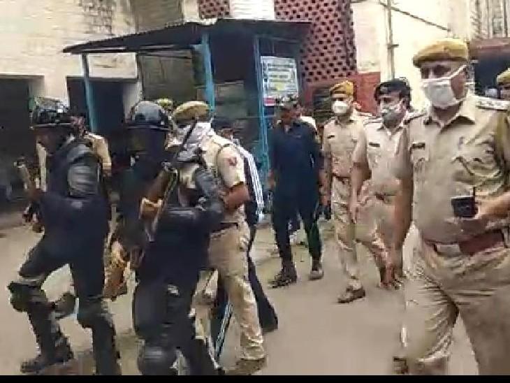 पुलिस जाब्ते की कमी के कारण गैंगस्टर शिवराज सिंह को नहीं लाया जा सका कोर्ट, 14 सितंबर को होगी अगली सुनवाई|कोटा,Kota - Dainik Bhaskar
