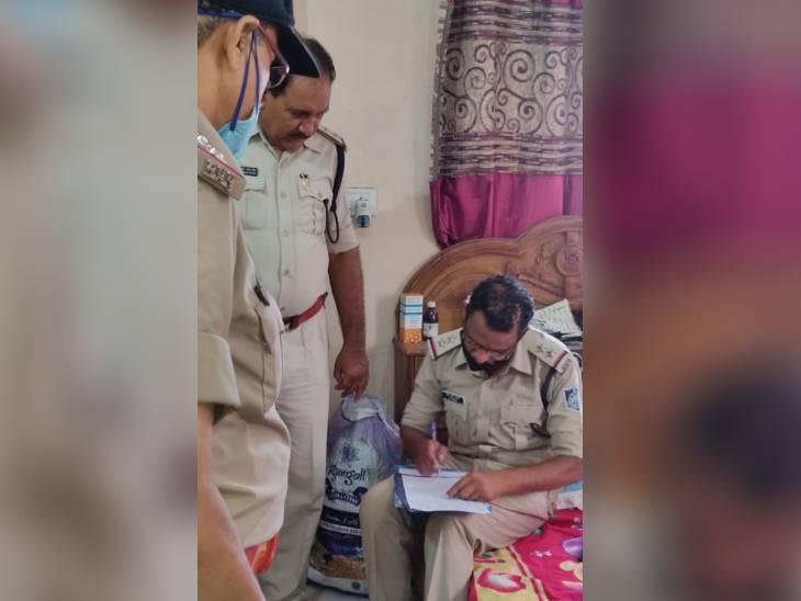 रात भर दोनों झगड़ते रहे, फिर पति ने सिर पर हथौड़ा मार कर हत्या कर दी, सुबह मिली लाश|जबलपुर,Jabalpur - Dainik Bhaskar