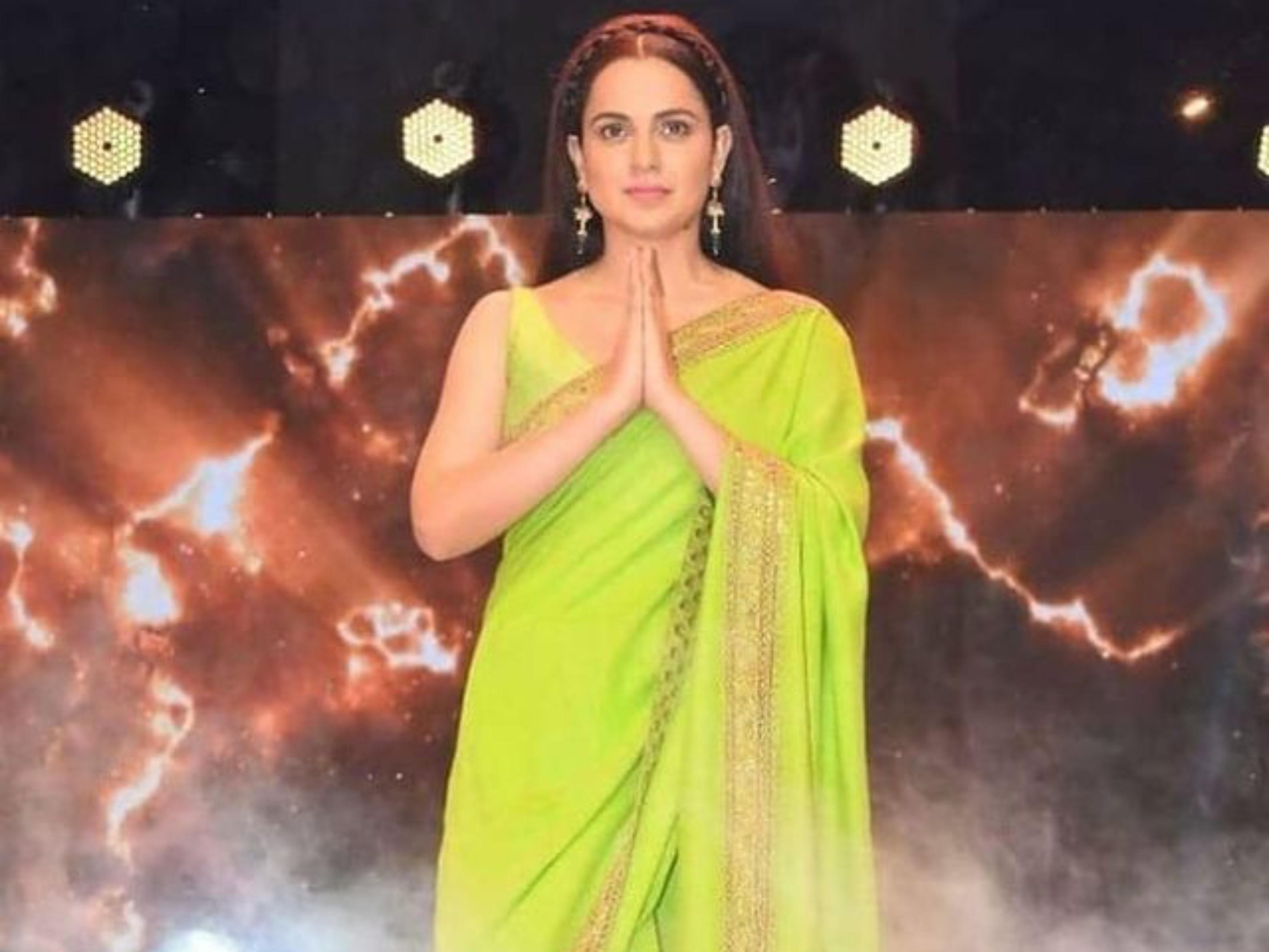 थलाइवी की रिलीज से पहले कंगना ने उद्धव सरकार से कहा- सिनेमा हॉल खोलिए ताकि बेजान फिल्म इंडस्ट्री को बचाया जा सके|बॉलीवुड,Bollywood - Dainik Bhaskar