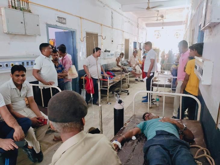 अस्पताल में बंदी का शव। - Dainik Bhaskar