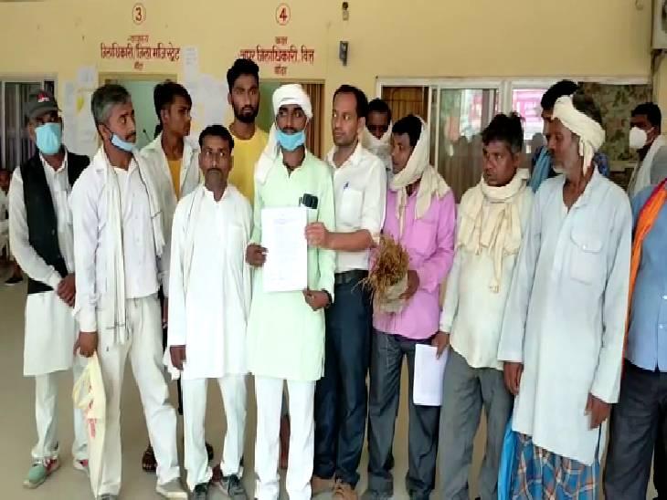 समाधान के लिए जिलाधिकारी को सौंपा ज्ञापन, समाजसेवी पीसी पटेल ने कहा- अगर समस्या का हल नहीं निकला, तो विशाल जनांदोलन करेंगे बांदा,Banda - Dainik Bhaskar