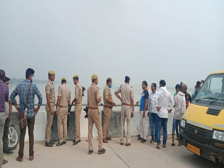 गाजीपुर में घर से कोरोना का टीका लगवाने की बात कहकर निकले थे दंपति, सैदपुर-चंदौली पुल पर पहुंचकर नदी में कूद गए...तलाश जारी गाजीपुर,Ghazipur - Dainik Bhaskar