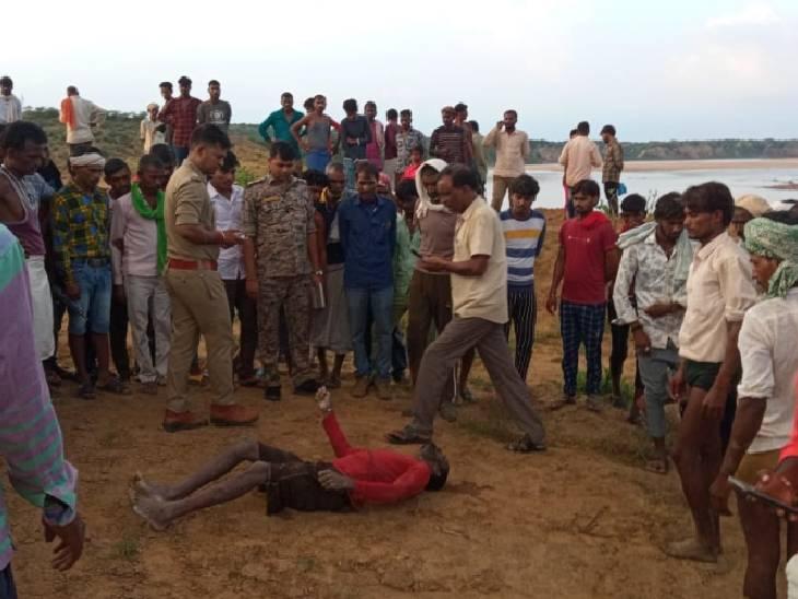 दो दिन से लापता युवक का तालाब में मिला शव|दतिया,Datia - Dainik Bhaskar