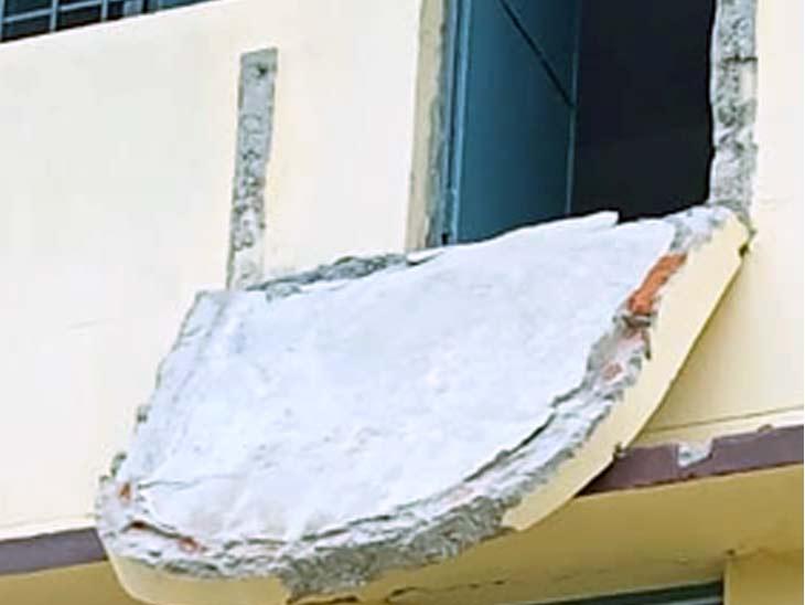 इस भवन का निर्माण एक करोड़ 48 लाख रुपए की लागत से हुआ है। - Dainik Bhaskar