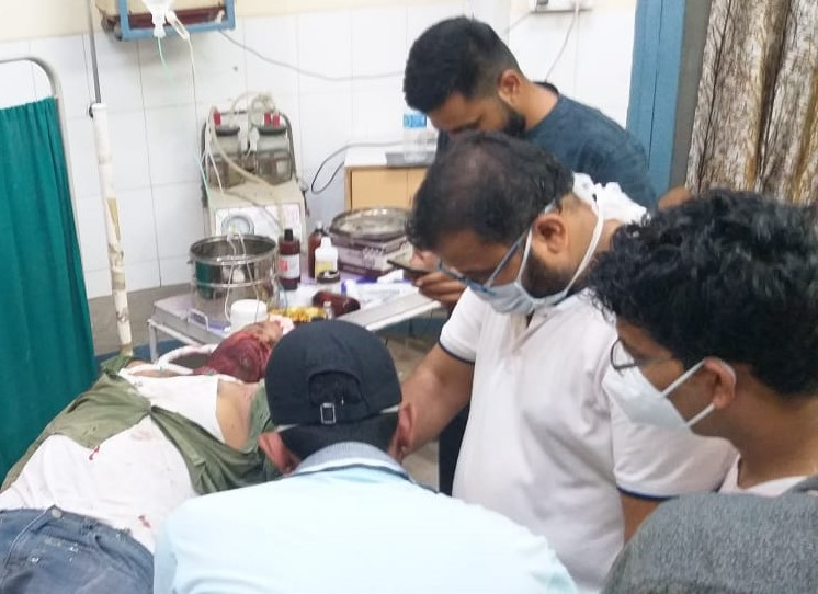 एक की मौत, दो गंभीर घायल, नोखा अस्पताल की बदइंतजामी कि मृतक को डिफ्रिजर तक नसीब नहीं हुआ|बीकानेर,Bikaner - Dainik Bhaskar