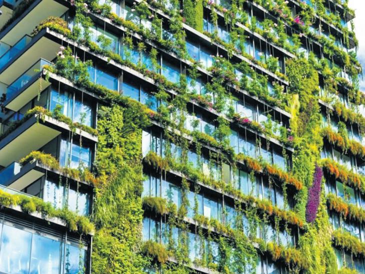 23 फ्लोर की पहली बिल्डिंग राजधानी में न्यूयॉर्क की तरह एक जगह सब सुविधा|रायपुर,Raipur - Dainik Bhaskar