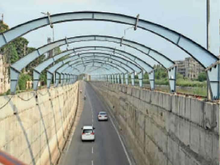 प्रोजेक्ट की टेंडर प्रक्रिया पूरी, 9 माह में गलाडा पूरा करवाएगा काम, वर्तमान में तंग पुल होने से ट्रैफिक की रहती है समस्या - Dainik Bhaskar