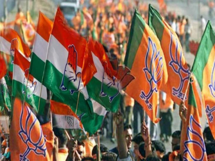 कांग्रेस और बीजेपी को कई जगह भीतरघात का डर, क्रॉस वोटिंग से बहुमत के बावजूद कई जगह हार-जीत के समीकरण बदलेंगे|जयपुर,Jaipur - Dainik Bhaskar