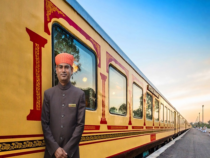 शाही ट्रेन पैलेस ऑन व्हील्स (फाइल फोटो)