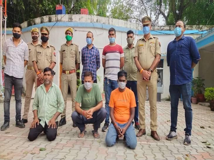 मार्तंड शाह मर्डर केस में 1 माह से फरार हत्या के 3 आरोपियों को वाराणसी पुलिस ने लहरतारा ब्रिज से किया गिरफ्तार। - Dainik Bhaskar