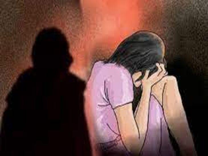 5 माह से नाबालिग मंद बुद्धि बेटी के साथ कर रहा था दुष्कर्म, मां ने दर्ज कराई रिपोर्ट|इंदौर,Indore - Dainik Bhaskar