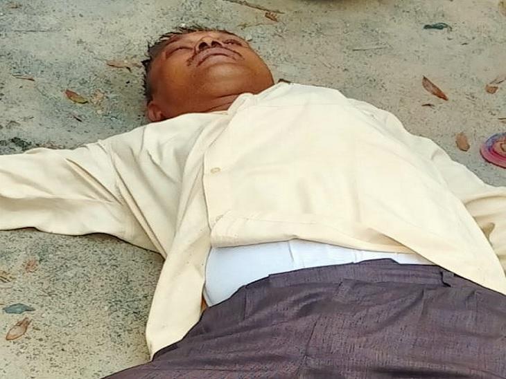 बाइक से गांव जाने के दौरान ओवरटेक कर सामने आए अपराधी, गले से चेन छीनने का किया प्रयास; विरोध करने पर सिर में मारी गोली|रोहतास,Rohtas - Dainik Bhaskar