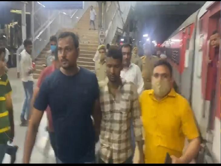 कानपुर सेंट्रल से अपहरण के बाद हत्या करने के आरोपी शत्रुघन को पुलिस ने किया गिरफ्तार - Dainik Bhaskar