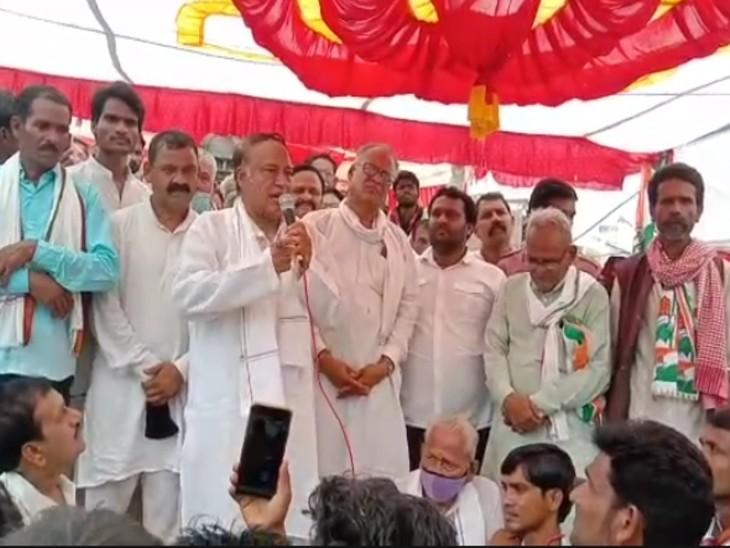 विधायक लक्ष्मण सिंह बोले- जो जनता बोले वो करो नहीं तो अंजाम भुगतना होगा; 7 दिन में समस्या दूर नहीं कि तो अदालत जाएंगे|गुना,Guna - Dainik Bhaskar