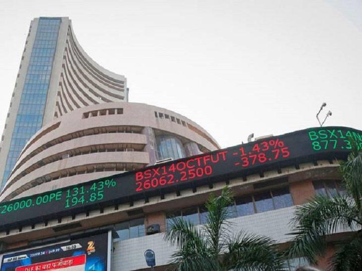 बाजार में बढ़त बरकरार, पहली बार सेंसेक्स 58500 और निफ्टी 17400 के पार; रियल्टी शेयर्स में तेजी|बिजनेस,Business - Dainik Bhaskar