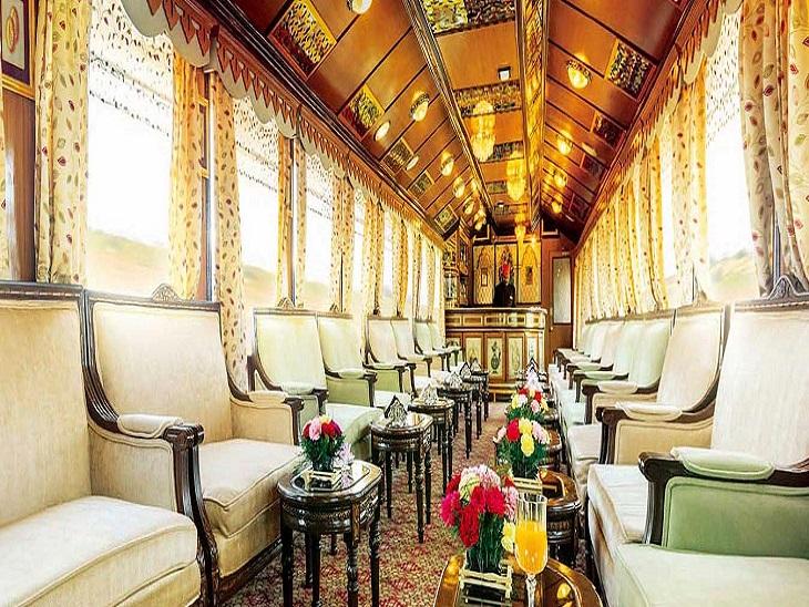 पैलेस ऑन व्हील्स भारत की पहली लक्जरी ट्रेन