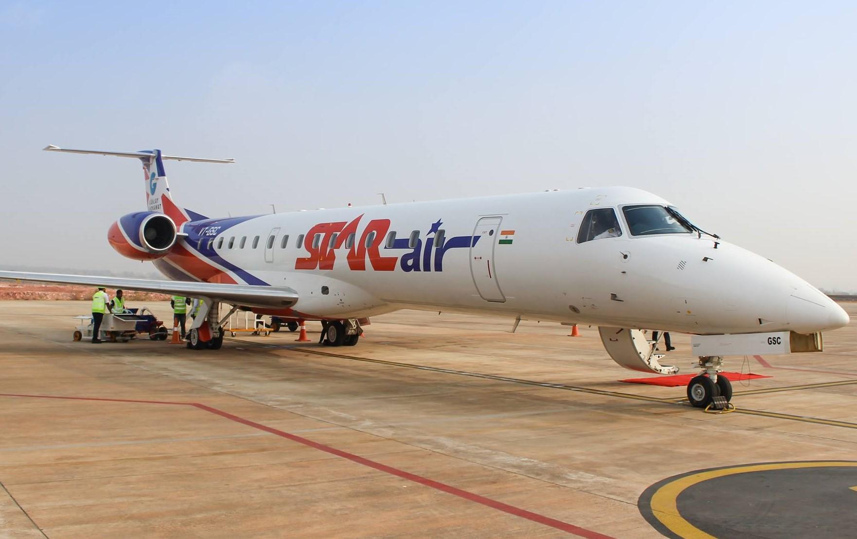 स्टार एयरलाइंस इस महीने शुरू कर सकती है 50 सीटर विमान, दिल्ली के लिए सप्ताह में अभी सिर्फ तीन दिन फ्लाइट|बीकानेर,Bikaner - Dainik Bhaskar