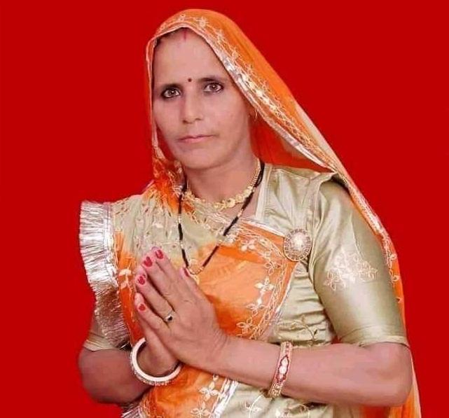 बांदीकुई प्रधान सुनीता गुर्जर।