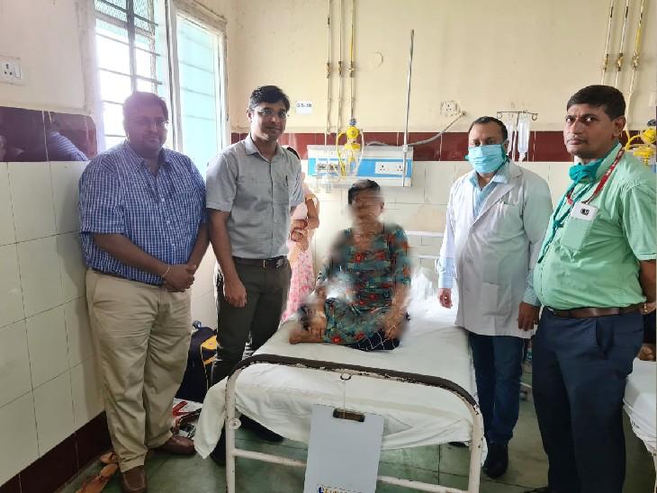 ऑपरेशन से ससुराल वालों को हो जाता शक तो तोड़ देते रिश्ता, सर्जरी होती तो शादी के दिन भी अस्पताल से नहीं मिल पाती छुट्टी, IGIMS के डॉक्टरों ने जान के साथ बचाया रिश्ता|पटना,Patna - Dainik Bhaskar