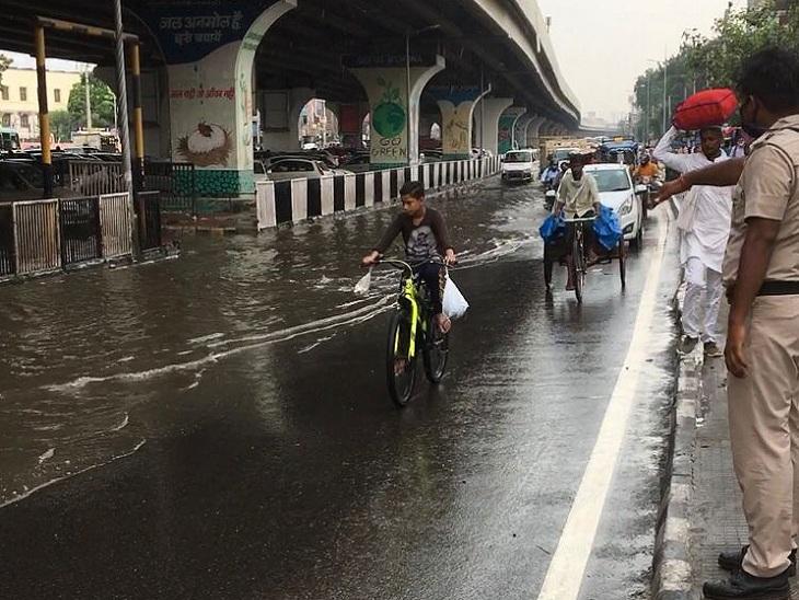 हरियाणा में बारिश व पंजाब में कहीं धूप तो कहीं बादल छाए; हिमाचल में 3 दिन हाई अलर्ट और नदी-नालों के पास न जाने की अपील|हरियाणा,Haryana - Dainik Bhaskar