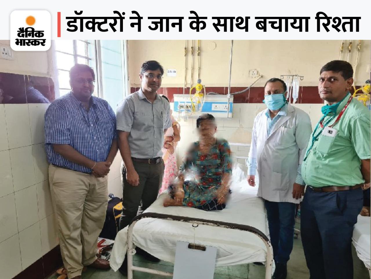 IGIMS पहुंची युवती बोली- पेट के ऑपरेशन से ससुराल वालों को हो जाएगा शक, टूट जाएगा रिश्ता; डॉक्टरों ने बिना चीरा लगाए किया ऑपरेशन|पटना,Patna - Dainik Bhaskar