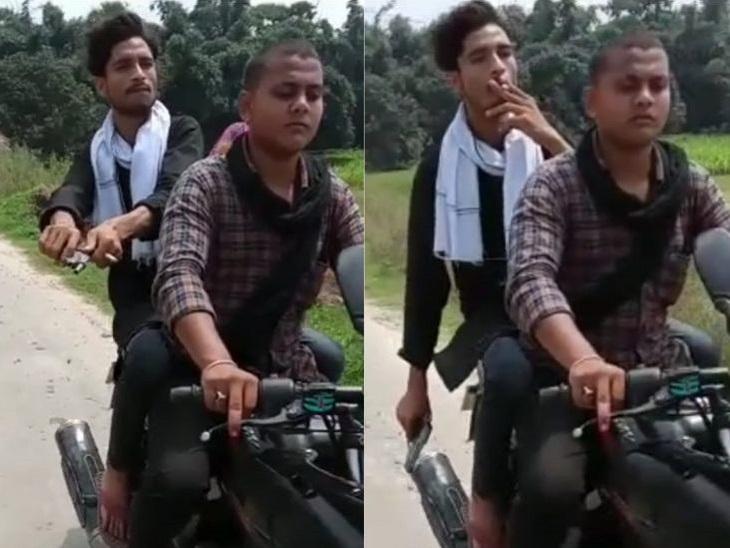 वीडियो देखने से लग रहा है कि इस क्षेत्र में पुलिस का कोई ख़ौफ नहीं है। - Dainik Bhaskar