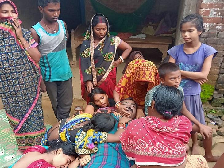 भागलपुर में सामने आई वारदात, 40 वर्षीय शख्स को पार्टी के बहाने जहर पिलाया, अस्पताल में हुई मौत|भागलपुर,Bhagalpur - Dainik Bhaskar